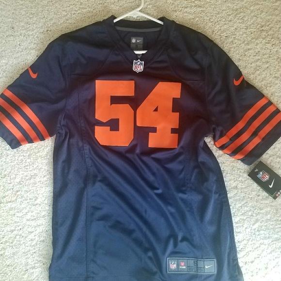 2555a491649 Nike NFL Shirts | Chicago Bears Urlacher Throwback Jersey | Poshmark